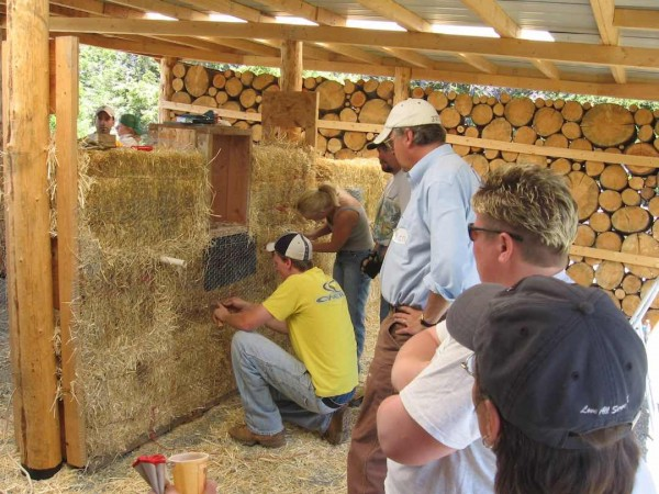 cordwood construction workshop