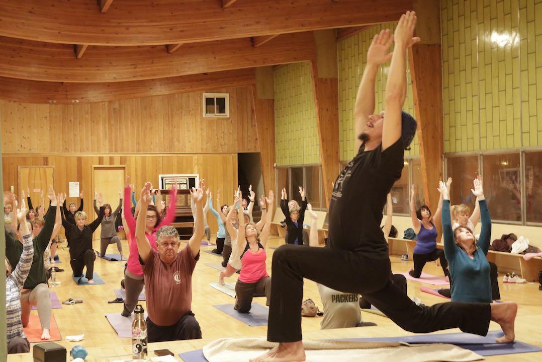 Butte, Montana yoga class