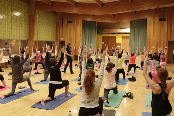 Butte, MT yoga class 2