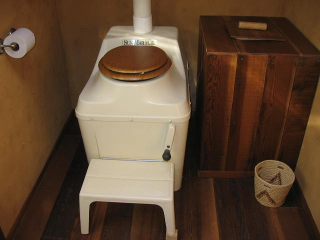 outhouse composting toilet